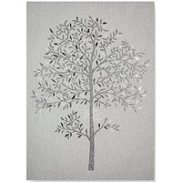 Product photograph showing Graham Brown Eternal Tree Canvas With Metallic Glitter