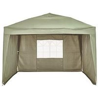 Product photograph showing 2 5 X 2 5m Pop Up Gazebo With 3 Piece Side Panels