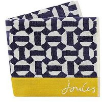 Product photograph showing Joules Honeycomb Geo Towels Bath Sheet