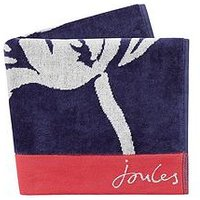 Product photograph showing Joules Dawn Shadow Floral Towels Bath Sheet