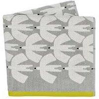Product photograph showing Scion Pajaro Towels Bath Towel