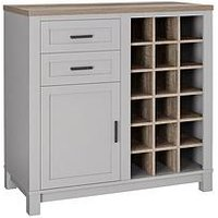 Product photograph showing Carver Bar Cabinet