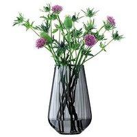 Product photograph showing Lsa International Zinc Vase