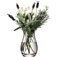 Product photograph showing Lsa International Handmade Glass Flower Vase