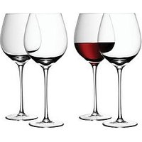 Product photograph showing Lsa International Lsa International Wine Collection Red Wine Glasses Set Of 4