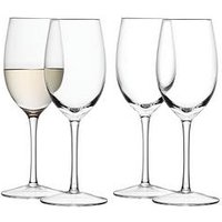Product photograph showing Lsa International Lsa International Wine Collection White Wine Glasses Set Of 4
