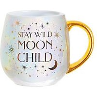 Product photograph showing Sass Belle Celestial Mug Moon Child