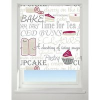 Product photograph showing Bake Off Blackout Roller Blind