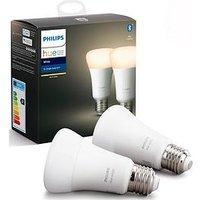Product photograph showing Philips Hue Bt - White E27 - E27 Single Bulb