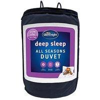 Product photograph showing Silentnight Deep Sleep All Seasons 4 5 9 Tog Duvet