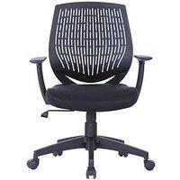 Product photograph showing Alphason Malibu Office Chair - Black