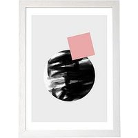 Product photograph showing East End Prints Minimalism 12 By Mareike Boehmer Framed Wall Art