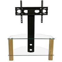 Product photograph showing Alphason Century Cantilever 80 Cm Tv Stand - Fits Up To 50 Inch Tv