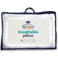 Product photograph showing Silentnight Healthy Growth Breathable Pillow