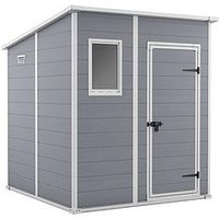 Product photograph showing Keter Manor Pent 6x6 Ft Shed