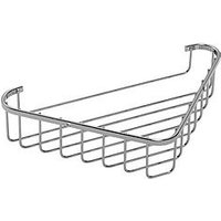 Product photograph showing Croydex Rust Free Corner Basket