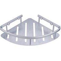 Product photograph showing Aqualona Premium Essentials Corner Shelf