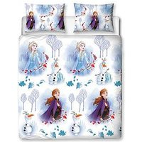 Product photograph showing Disney Frozen Elements Double Duvet Cover Set