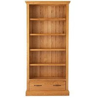 Product photograph showing Kingston 100 Solid Wood Ready Assembled Bookcase