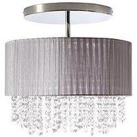 Product photograph showing Arabella 3-light Flush Ceiling Light
