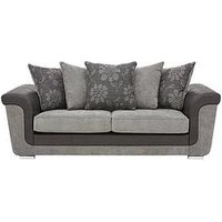 Product photograph showing Vidal 3 Seater Sofa