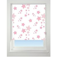 Product photograph showing Twinkle Twinkle Blackout Roller Blind - Pink