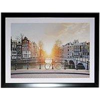 Product photograph showing Arthouse Bridge Scene Framed Print