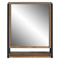 Product photograph showing Lloyd Pascal Linley Single Mirror Bathroom Wall Cabinet