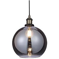 Product photograph showing Newark Industrial Pendant Ceiling Light