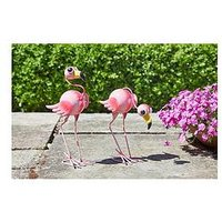 Product photograph showing Smart Solar Flamingo Fun 2 Pack