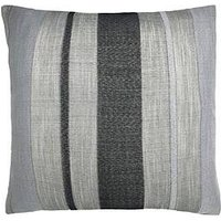 Product photograph showing Catherine Lansfield Powel Jacquard Stripe Cushion