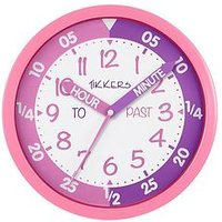 Product photograph showing Tikkers Time Teacher Wall Clock