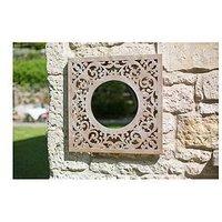 Product photograph showing La Hacienda Square Garden Mirror