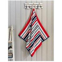 image-Deyongs Marbielle Cotton Beach Towel - Blue