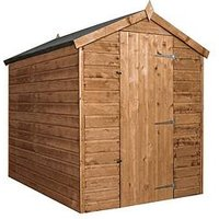Product photograph showing Mercia 7x5 Premium Pressure Treated Shiplap Apex Shed