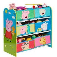 Product photograph showing Hello Home Peppa Pig Kids Storage Unit