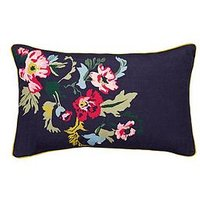 image-Joules Cambridge Garden Floral Cushion