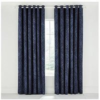 Product photograph showing Bedeck Of Belfast Konoko Curtains 66x72