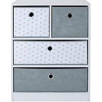 Product photograph showing Lloyd Pascal Cube 2 2 Storage Unit With Stars