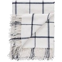 Product photograph showing Cascade Home Check Woven Throw