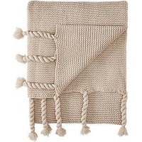 Product photograph showing Cascade Home Angelina Knitted Throw