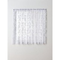 Product photograph showing Balmoral Brise Curtain In 8 Size Options Ndash 114 Cm Drop