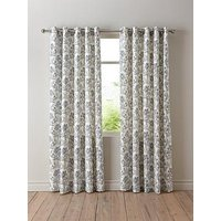 Product photograph showing Chloe Lined Eyelet Curtains