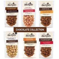 Product photograph showing Joe Sephs Chocolate Popcorn Collection