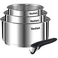Product photograph showing Tefal Ingenio Emotion 4-piece Pan Set