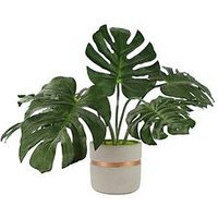 Product photograph showing Gallery Artificial Monstera Plant