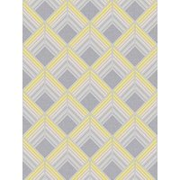 Product photograph showing Boutique Trifina Geo Yellow Wallpaper