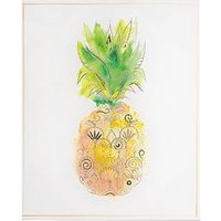 Product photograph showing Graham Brown Pineapple Tropics Canvas Wall Art