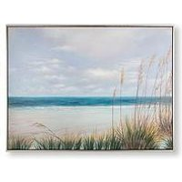 Product photograph showing Graham Brown Coastal Shores Hand-painted Framed Canvas Print