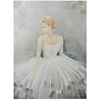 Product photograph showing Graham Brown Beautiful Ballerina Canvas Wall Art